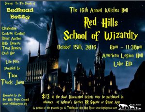 Photo courtesy of the Red Hills Pagan Council's 16th Annual Witches Ball Facebook event page.